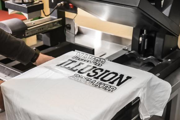 Impression textile à Tournai
